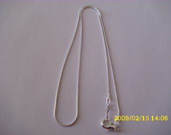 Necklace 46cm with a lobster clasp snake