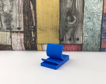 IPhone Stand, Sticky Note 3D printed Gift, Minimalist Desk, Desk Accessory, Gifts for him, Gift for her,