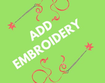 Add Embroidery to Quilt/Blanket