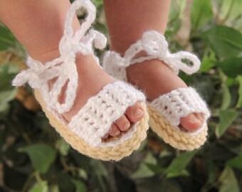 Summer sandals, Baby Sandals, Crochet Baby Shoes, Sandals for boy, for girl, Baby Flip Flops, Crochet Shoes, bottillons, boy crochet sandals