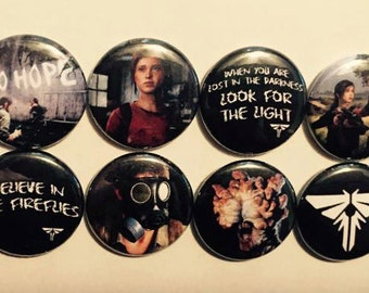The Last of Us Button Set (8 Pack)
