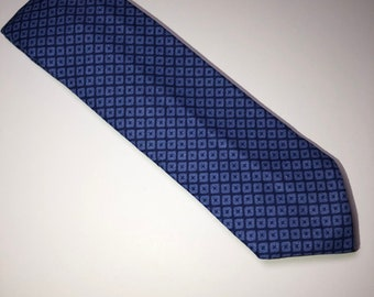Blue Diamond Skinny Tie