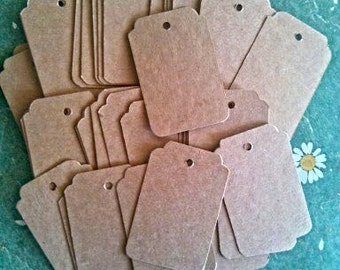 Gift Tags, Wedding Favor Tags, Set of 50, Product Tag, Price Label