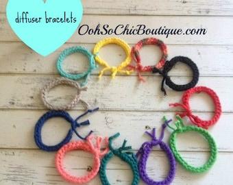 Adjustable Diffuser Bracelet, Aromatherapy Bracelet, Essential Oil Bracelet, BUY 4 GET 1 FREE, Bracelets for kids, Summer Beach Bracelets