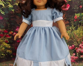 Doll Dress for a Spring Tea Party - fits 18 Inch Dolls