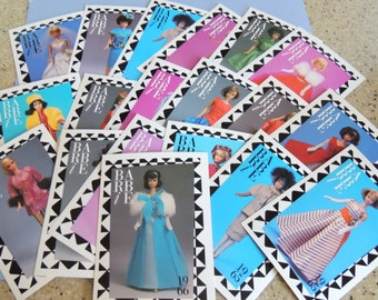1965-1969 Barbie Trading Cards, First Edition