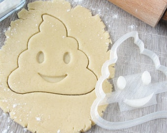 "Cookie cutter-press ""Emoji"" 3.5"""