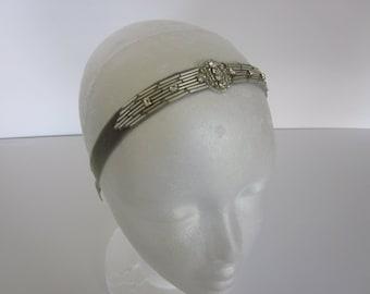 Great gatsby headband, gatsby headpiece the great gatsby gatsby style headbands headband 1920 fashion 1920 costumes 1920 clothing flapper