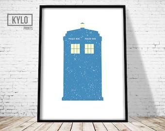 Doctor Who Print, Dr Who Print, Tardis Print, Tardis Art, Doctor Who Printable Art, Dr Who Art, Doctor Who Tardis, Doctor Who Gift, Dr Who