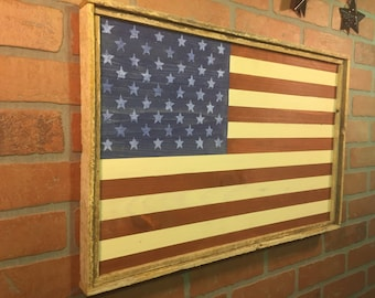 Wood American Flag, Rustic American Flag, Wooden American Flag, Modern Farmhouse, Farmhouse Style, Americana Decor, Farmhouse Style,