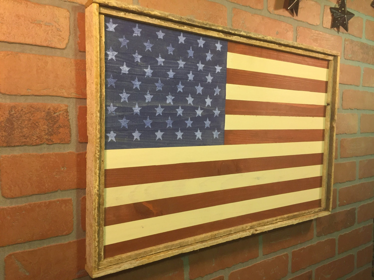 Luxury Wood American Flag Wall Decor Images - The Wall Art ...