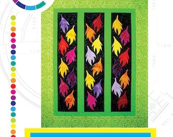 Autumn's Splendor - PDF Quilt Pattern  CWLIN-007