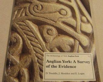 Vintage Book Anglian York: A Survey of the Evidence