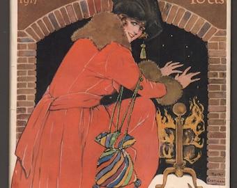 Beautiful Edwardian McCall's Magazine February 1917 Mary Pickford Article