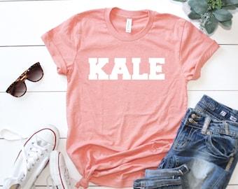 Kale Shirt. Kale Tshirt. Vegan Shirt.