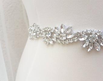 Thin bridal belt, wedding belt, skinny belt, thin wedding belt, Bridal belt, bridesmaid sash, thin bridal sash, thin wedding sash, LILLY