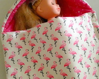 Pink Flamingo doll Bunting