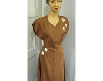 Rayon dice dress