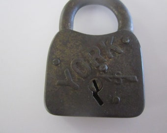 Antique york lock