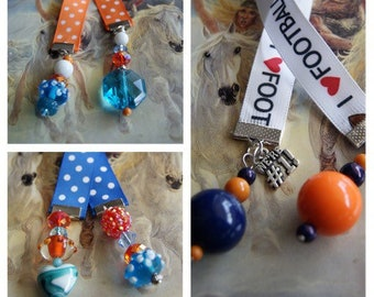 Broncos Themed Bookmarks