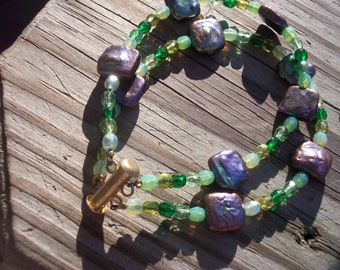 Green crystal slide lock bracelet,crystal bracelet,side lock bracelet
