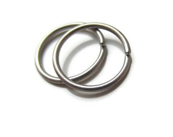 Titanium Hoop Earrings Nickel Free Titanium Earrings for Sensitive Ear, One Pair