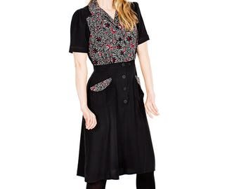 30s inspired dress Oddveig Twill