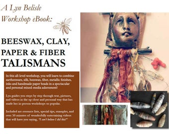 Workshop eBook: Beeswax, Clay, Paper and Fiber Talismans - with videos