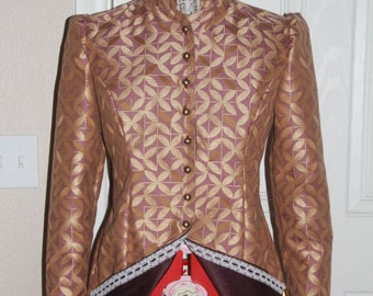 Late Victorian womans costume jacket