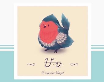 Tier-ABC - V wie Vogel