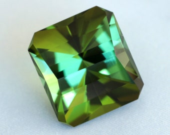 2.05 Carat Congolese Tourmaline Gemstone Precision Cut Gem