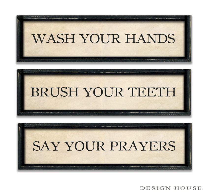 Bathroom Rules Bathroom Decor Industrial Signs Bathroom Signs - Bathroom signs for business