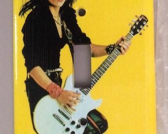 Joan Jett: light switch cover plate