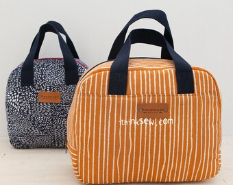 Russel Lunch Bag PDF Sewing Pattern (#1311)