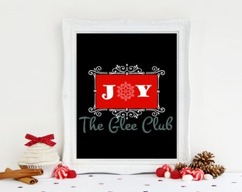 Christmas Print, Joy Print, Holiday Printable, Instant Download, 8 x 10 Digital, Chalkboard print, Christmas Sign, Christmas gift