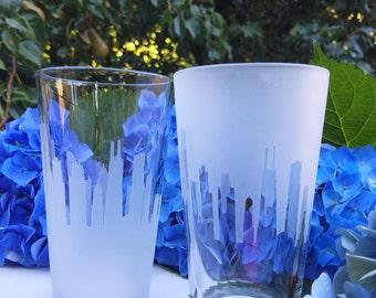 San Francisco Skyline Pint Glass (Set of 2)
