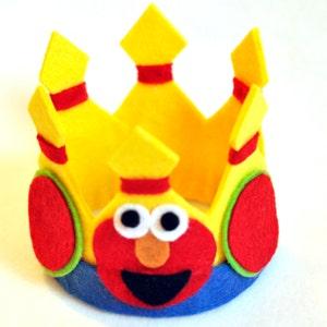 Elmo MINI Birthday Tiny Hat - Customize!