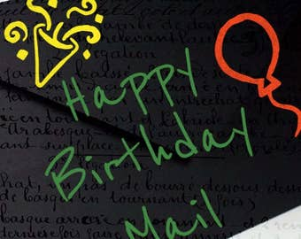 Happy Birthday Mail
