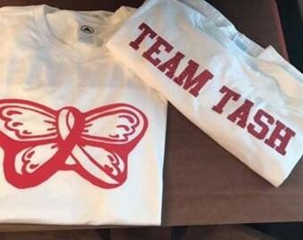 Team Tash Shirts *Fundraiser*