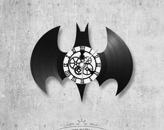 Vinyl 33 clock towers Batman theme