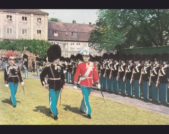 12 Vintage Uniform Postcards - Denmark - Europe