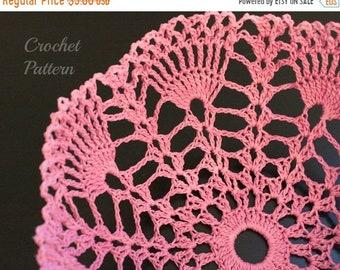 ON SALE CROCHET Pattern - Crochet Doily Bowl Pattern, Crochet Lace Bowl Pattern, Crochet Basket Pattern, Crochet Doily Pattern