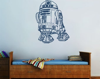 kik2275 Wall Decal Sticker R2-D2 droid robot Star Wars children's bedroom