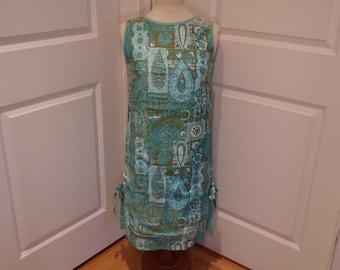 Vintage 1960's  Sleeveless Dress