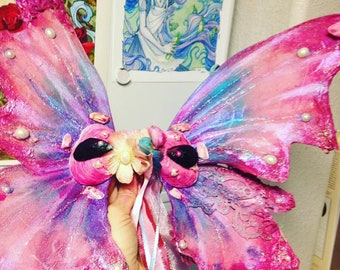 Mermaid Tail Fairy Wings