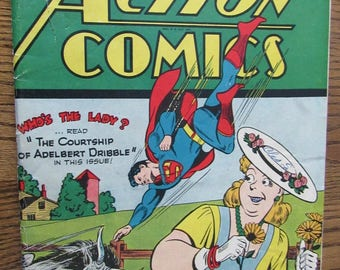 Action Comics Superman #74 July 1944