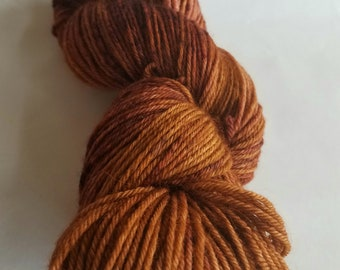 Free ship 100g SW Bluefaced Leicester DK Caramel