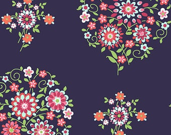 Amy Butler - Love - Memento in Midnight by Free Spirit Fabrics  - you choose the cut