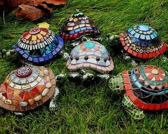 Mosaic Workshop: Garden sculpture, July 20,21,22
