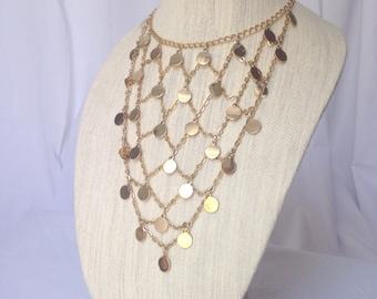 Unique Bib Chain Necklace